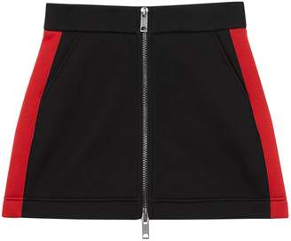 Burberry Logo Detail Neoprene Mini Skirt