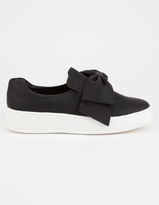 Soda Sunglasses Bow Womens Slip-On Shoes