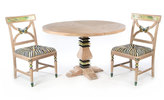 Mackenzie Childs MacKenzie-Childs Grange Pedestal Table