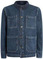 Topman Denim Workwear Jacket