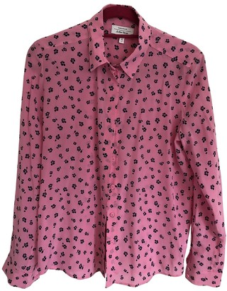 And other stories & Stories Pink Silk Top for Women