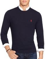 Polo Ralph Lauren Stretch Merino Slim Fit Crewneck Sweater