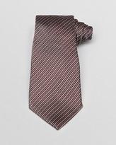 Armani Collezioni Broken Herringbone Stripe Classic Tie