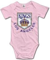 Lierv Baby Girls Boys Los Angeles Kings Ice Hockey Fun Bodysuit Onesies