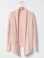 Gap Pointelle open cardigan