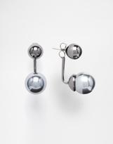 Pearl Swing Stud Earrings