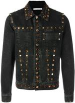Givenchy embellished denim jacket - men - Cotton - M