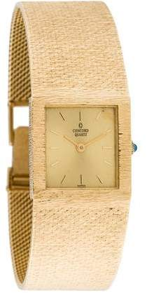 Concord 14K Watch