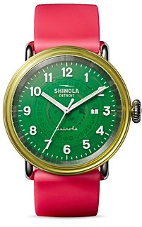 Shinola Gummy Worm Detrola Watch, 43mm
