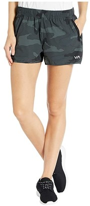 RVCA Yogger Stretch Short (Black) Women's Shorts