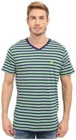 U.S. Polo Assn. Candy Striped V-Neck T-Shirt