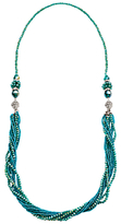 Murano Martick 3-Way Crystal Bead Necklace