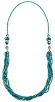 Murano Martick 3-Way Crystal Bead Necklace