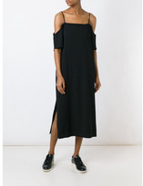 Alexander Wang off-shoulder crepe dress
