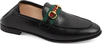 Gucci Brixton Horsebit & Web Convertible Loafer
