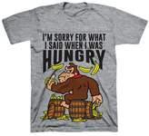 Super Mario Boys' Donkey Kong T-Shirt - Grey