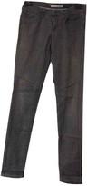 Twenty8Twelve By S.miller Grey Cotton - elasthane Jeans for Women