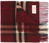 Burberry checked scarf - men - Cashmere - One Size