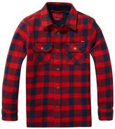 SCOTCH & SODA KIDS - Youth Boy's Check Overshirt
