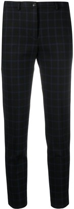 Seventy High-Rise Checked Trousers