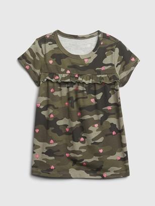 Gap Toddler Mix and Match Ruffle T-Shirt