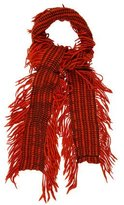 Burberry Woven Fringe Scarf