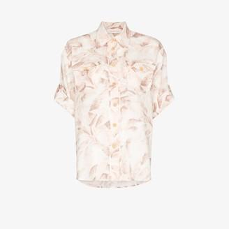 Zimmermann Safari print shirt