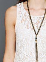 Free People Sleeveless Miles of Lace Dress