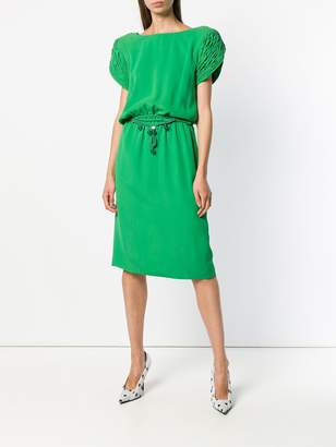 Valentino Pre-Owned shortsleeved mid-length dress