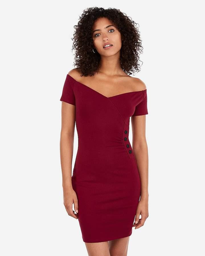 96d5c9059de Express Red Dresses - ShopStyle