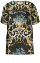 Marques Almeida Marques'almeida embroidered oversized T-shirt