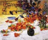 Canvas Art USA The Black Teapot by Jonas Lie - Premium Canvas Print