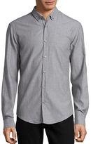 BOSS GREEN Flannel Button Front Sportshirt