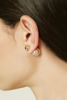Forever 21 FOREVER 21+ Faux Pearl Dual Studs