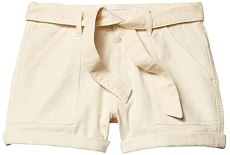 Lucky Brand Mid-Rise Cargo Shorts (Birch) Women's Shorts