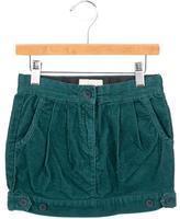 Stella McCartney Girls' Pleated Corduroy Skirt w/ Tags