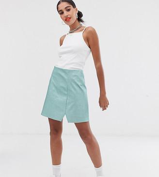 Reclaimed Vintage inspired skirt in glitter