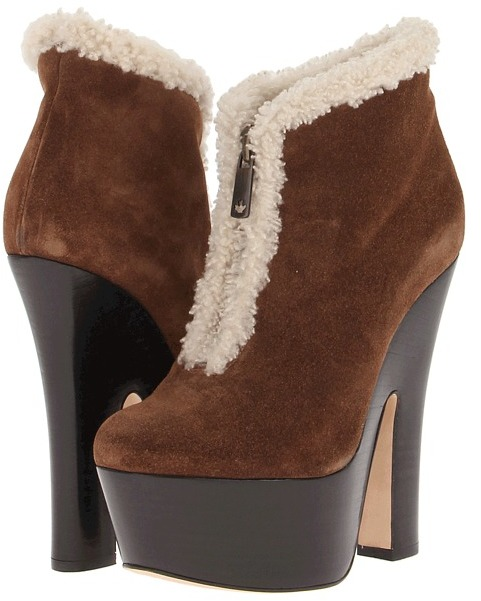 DSquared DSQUARED2 W13J209 Ankle Boot Women' Zip Boot