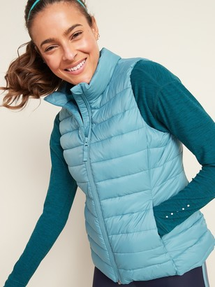 Old Navy Packable Narrow Channel Puffer Vest for Women
