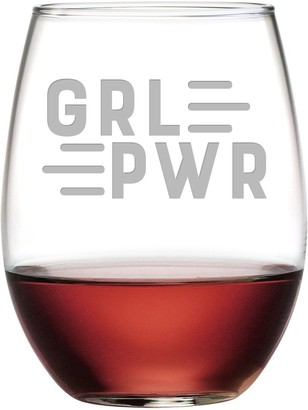 Susquehanna Glass GRLPWR Stemless Wine Tumbler 21 oz