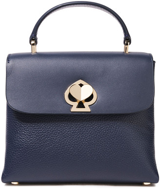 Kate Spade Romy Mini Smooth And Pebbled-leather Tote