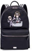 Dolce & Gabbana DJ Applique Backpack