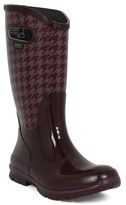 Bogs Women's 'Berkley - Houndstooth' Waterproof Rain Boot