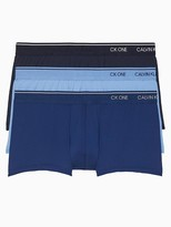 Calvin Klein One Low Rise Trunk 3-Pack