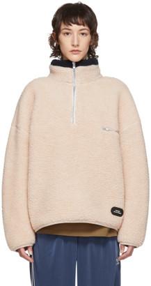 BEIGE Rassvet Wool Fleece Pullover