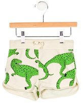 Mini Rodini Boys' Dinosaur Drawstring Shorts