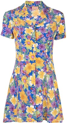 Lhd Clemenceau floral print dress