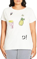 City Chic Fruity Fever Top
