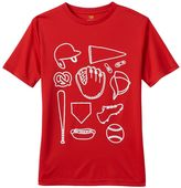 Tek Gear Boys 8-20 Baseball Game Tee