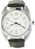 Hermes Dressage 037801WW00 Quantieme GM Stainless Steel 40.5mm Watch